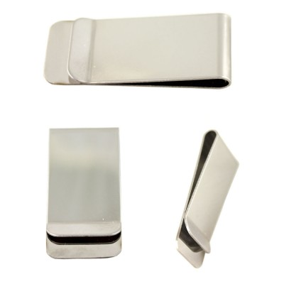 MONEY CLIP - STAINLESS - MONOGRAM AVAILABLE - MC-PGFU001