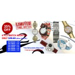 Discount Package: 35% off ( 6 PC ) Assortment Watches - Group 2- PROMO-WATCH-3