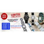 Discount Package: 35% off ( 6 PC ) Assortment Watches - Group 1 - PROMO-WATCH-4