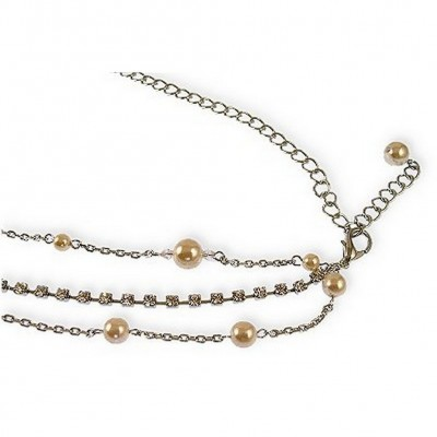 Chain Belt/ Multi-Chain Pearl w/ Chains - BLT-95323CL