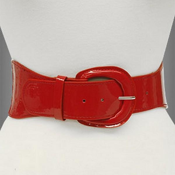 Belt - Polka Dots - Elastic - Red - Size : SM - BLT-BE145RD-SM