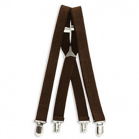Suspenders - Glittery - Brown - BLT-SP005BN