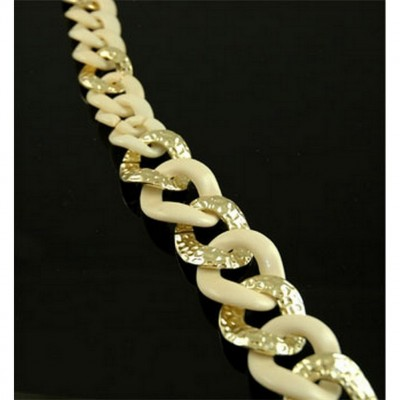 Chain Belt - Two Tone Links - Natural - BLT-T1367NT