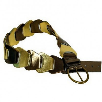 Metallic Belt - Bronze - BLT-TO30010BZ