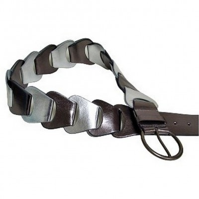 Metallic Belt - Pewter - BLT-TO30010P