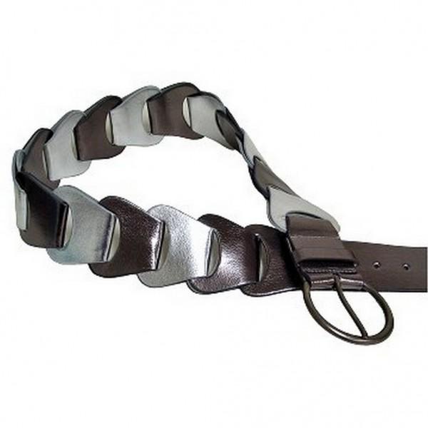Metallic Belt - Pewter - BLT-TO30010P