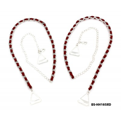 Bra Straps - CNL Style Chain Strap - Red - BS-HH165RD