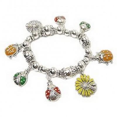Charm Bracelet/ Lady Bug - BR-FB864A