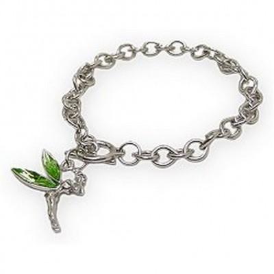 Tinker Bell Charm Bracelets - Green - BR-JJB1173GN