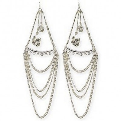 Rondel Crystal Earrings - ER-YS8144CL
