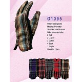 Gloves - Oxford Plaid Gloves - GL-G1095