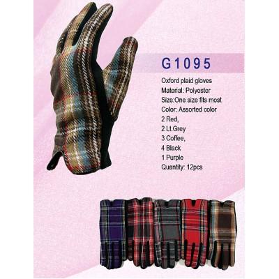 Gloves - Oxford Plaid Gloves - GL-G1095