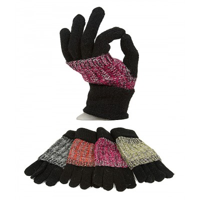 Gloves - Knitted W/ Double Layer - GL-G2103