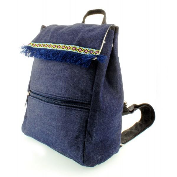 Denim Back Pack for kids - BG-608