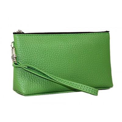 Cosmetic Bags w/ Wristlet - Green -BG-HD1445GR
