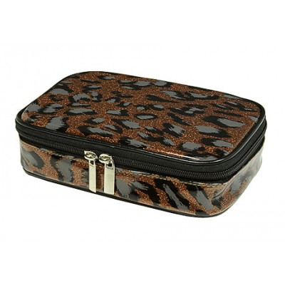 Cosmetic Purse - Bronze Leopard - BG-HM00005BZ