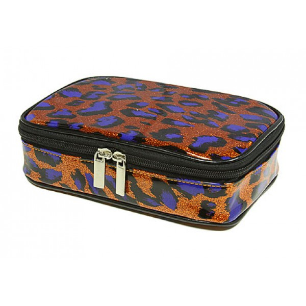 Cosmetic Purse - Orange Leopard - BG-HM00005OR