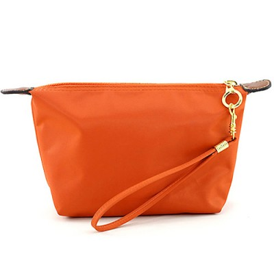Nylon Cosmetic Bags w/ Wristlet - Orange - BG-HM1006OR