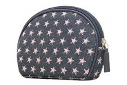 Denim Pink Star Cosmetic Bag - BG-PI026CPK