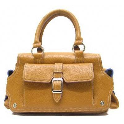 Pebble Leather-Like Small Tote W/ Pockets - BG-PL30231CA