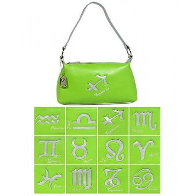 Horoscope Shoulder Bags - BG-HS969GN-SV