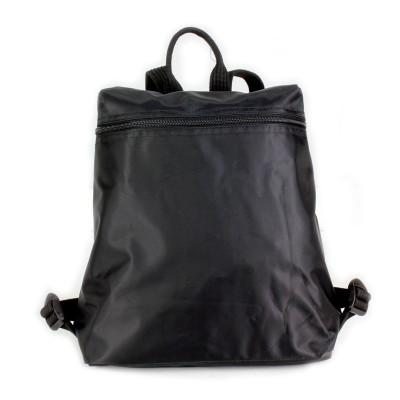 Nylon Backpack - Black - BG-NL0519BK