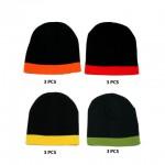 12-pc Cap - Winter Knitted Beanie Caps