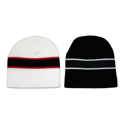 12-pc Cap - Winter Knitted Beanie Caps - HT-5018MIX