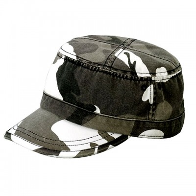 Military Cap - Enzyme Washed Cotton Twill -- HT-9028CITY