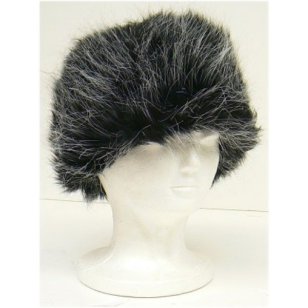 Ladies Faux Fur Hat - Gray - HT-8298GY