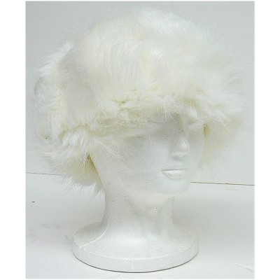 Ladies Faux Fur Hat -White - HT-8298WT