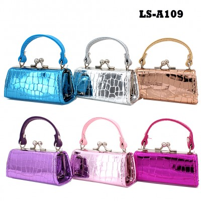 Lipstick Case - Metallic Croc - 12PCS/PACK - LS-A109