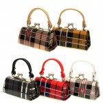 Lipstick Case - Plaid Print - 12PCS/PACK - LS-A159