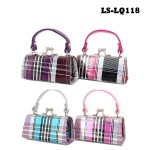 Lipstick Case - Plaid  Laser Effect - 12PCS/PACK - LS-LQ118