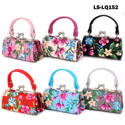 Lipstick Case - Flowers Print - 12PCS/PACK - LS-LQ152