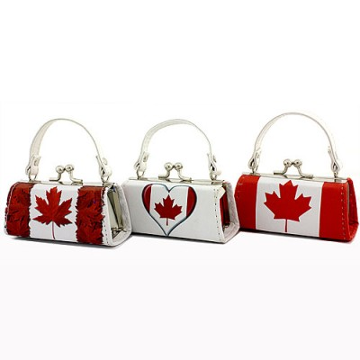 Lipstick Case - Maple Leaf Logo Print  - 12PCS/PACK - LS-LQ94