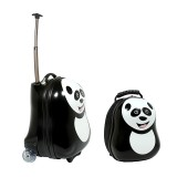The Cuties & Pals Cheri Panda Backpack & Trolley Set