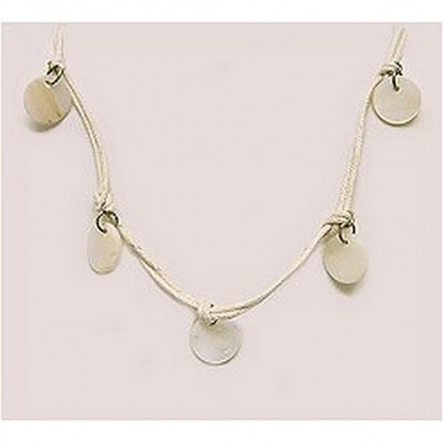 12-pc Shell Charm Necklaces - NE-XN057BG
