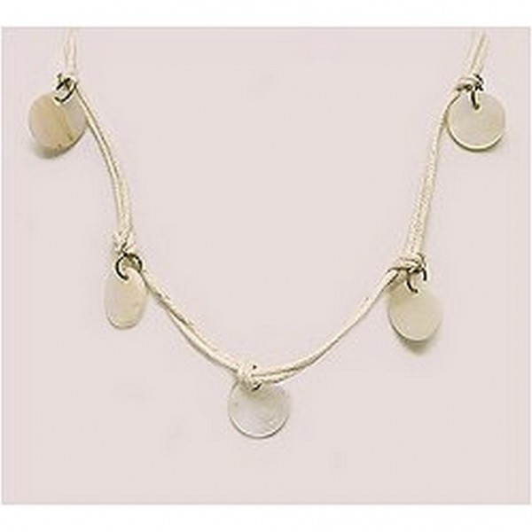 12-pc Shell Charm Necklaces - NE-XN057BG
