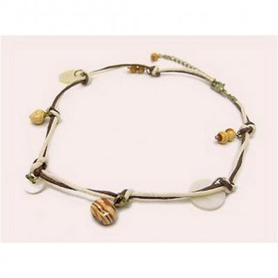12-pc Shell Charm Necklaces - NE-XN059BG