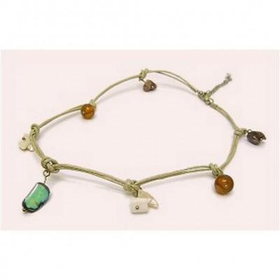12-pc Shell Charm Necklaces - NE-XN060BG