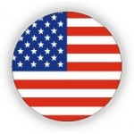 USA Flag Print Pin - 12 PCS Pack - PN-UFG01