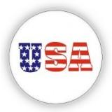 USA Flag Print Pin - 12 PCS Pack - PN-UFG03