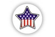 USA Flag Print Pin - 12 PCS Pack - PN-UFG04