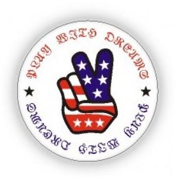 USA Flag Print Pin - 12 PCS Pack - PN-UFG05