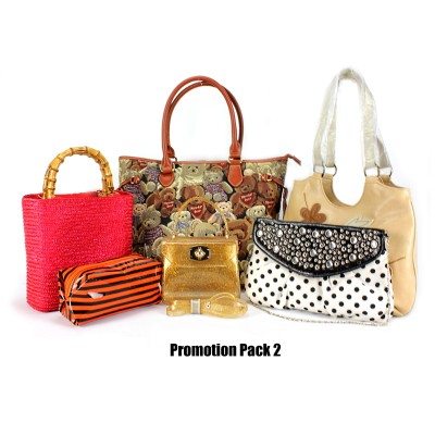 Discount Package: 6 Pieces Assorted Bags ( Only 1 pack Left )  - PROMO290