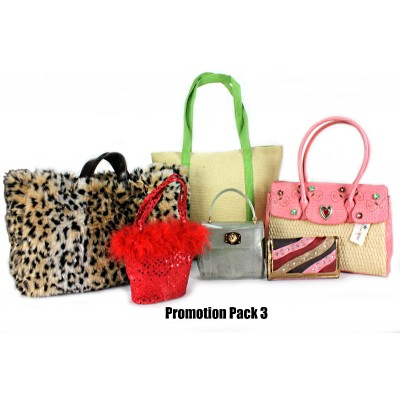 Discount Package: 6 Pieces Assorted Bags ( Only 1 pack Left ) - PROMO291