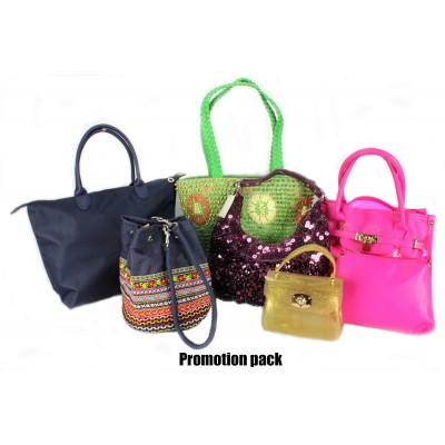 Discount Package: 6 Pieces Assorted Bags ( Only 1 pack Left ) - PROMO292