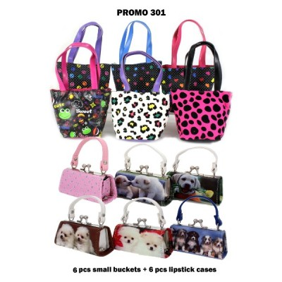 Discount Package: 12 Pieces Assorted Small Bags ( Only 1 pack Left ) - PROMO301