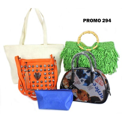 Discount Package: 5 Pieces Assorted Bags ( Only 1 pack Left ) - PROMO294